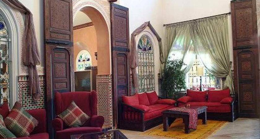 Moroccan Living Room Decor Modern House