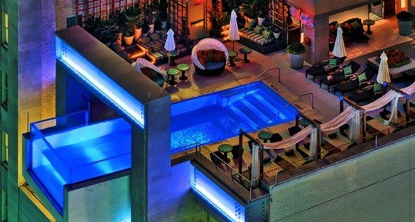 Most Beautiful Roof Top Pools World