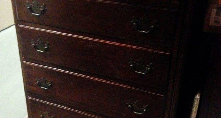 Must Stunning Solid Mahogany Antique Drexel