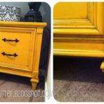 Mustard Yellow Night Stand Classy Clutter