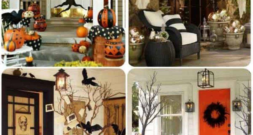 Mysterious Creepy Front Porch Decorating Ideas