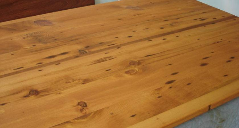 Nantucket Reclaimed Lumber Heart Pine Counter Top