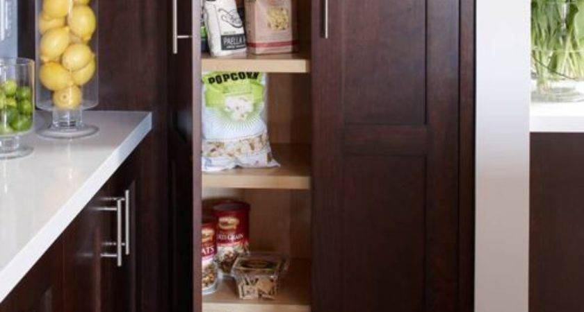 Narrow Pantry Cabinet Home Design Ideas Remodel