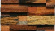 Natural Wood Mosaic Tile Rustic Wall Tiles Nwmt