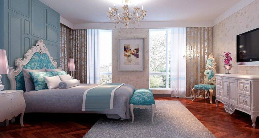 New Classical Bedroom Interior Design Women
