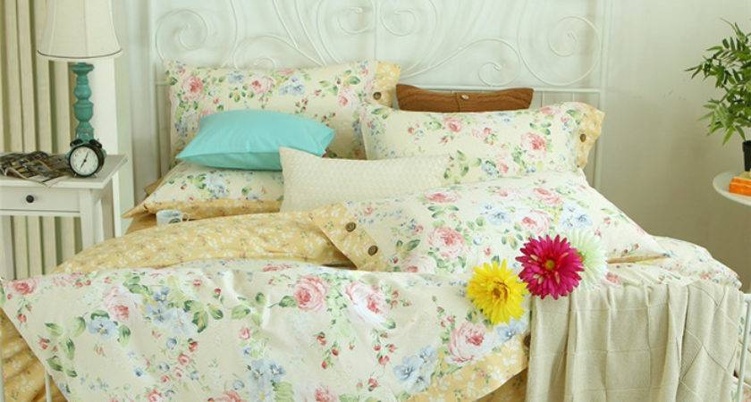 New French Country Style Bedding Set Cotton