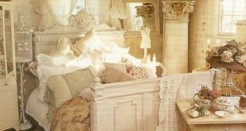 New Rustic Shabby Chic Bedroom Ideas