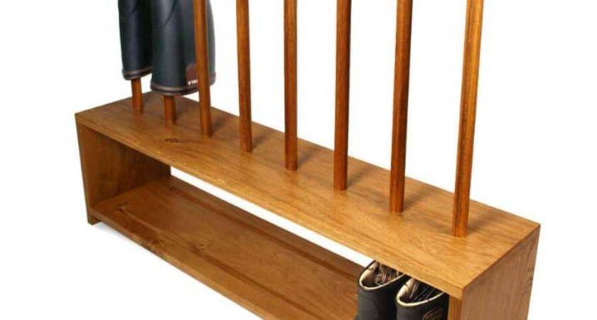 Oak Boot Shoe Rack Ideas