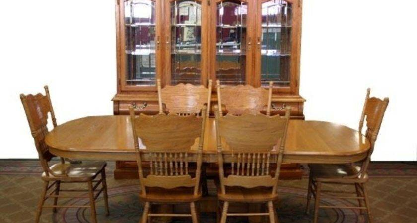 Oak Dining Room Table Chairs Iagitos