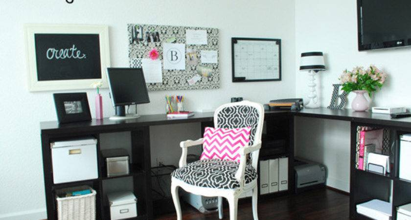 Office Pink Grey Home Decorations