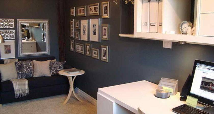 Office Workspace Small Decorating Ideas