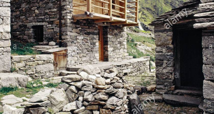 Old Rustic Stone House