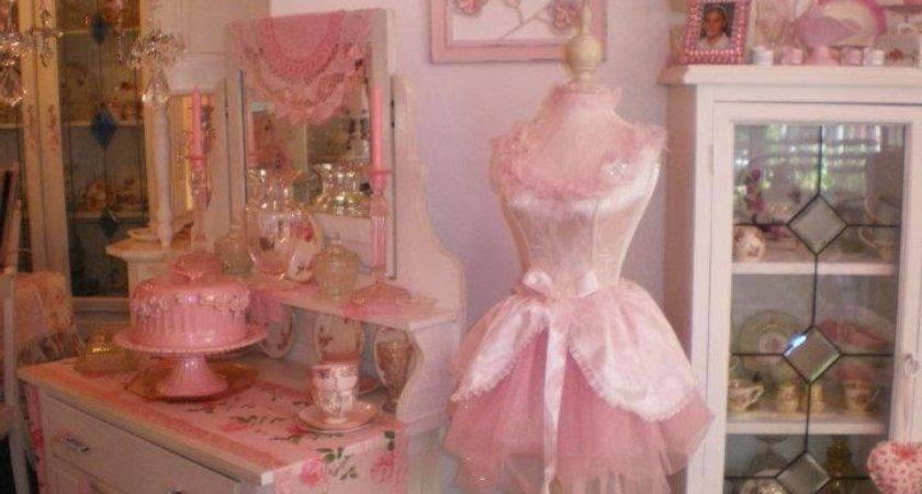 Olivia Romantic Home Kim Shabby Chic Pink Palace