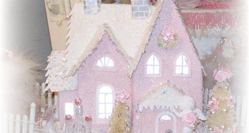 Olivia Romantic Home Merry Shabby Chic Pink Christmas