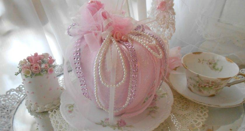 Olivia Romantic Home Shabby Chic Pink Pumpkins