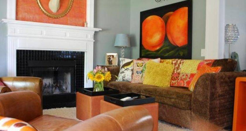 Orange Blue Color Schemes Modern