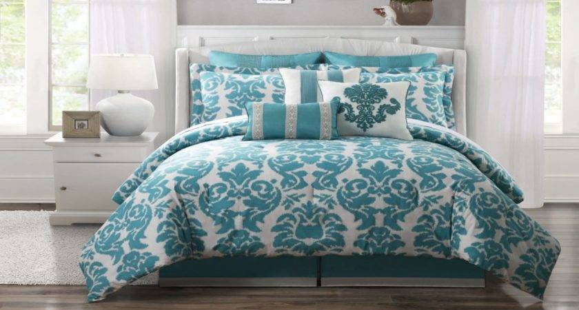 Orange Teal Bedding Interior Designs