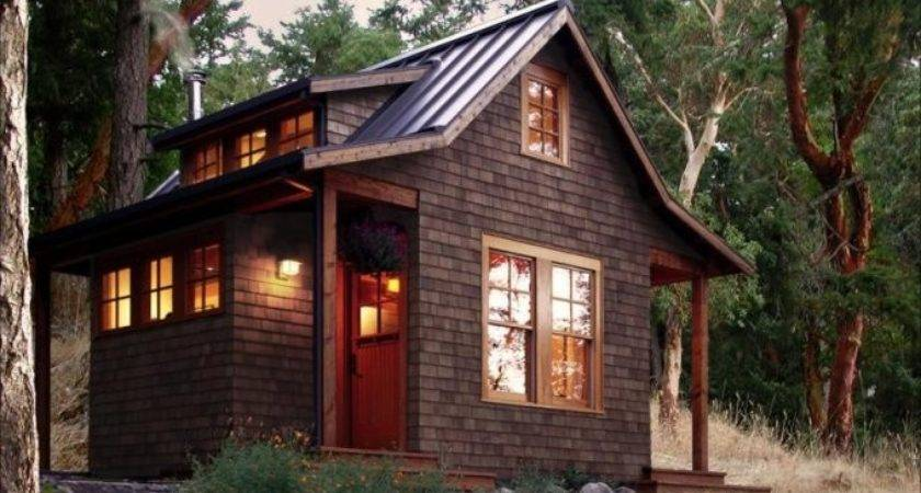 Orcas Island Cabin Beautiful Small House Cozy Homes Life