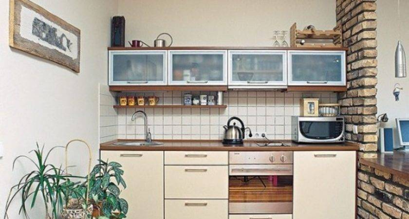 Organize Small Studio Apartment Kitchen Design