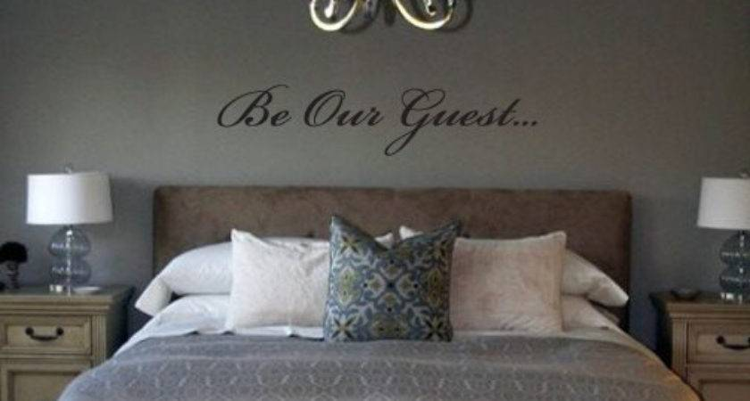 Our Guest Removable Vinyl Wall Art Grabersgraphics