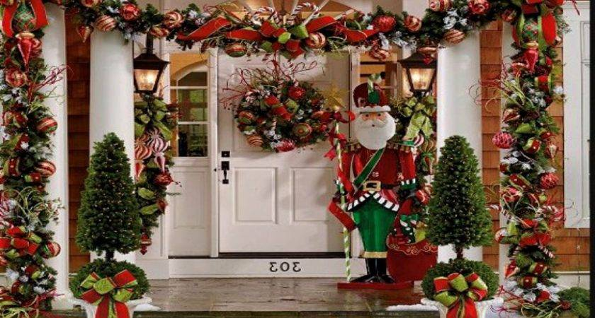 Outdoor Holiday Decorating Ideas Pinterest Best Home