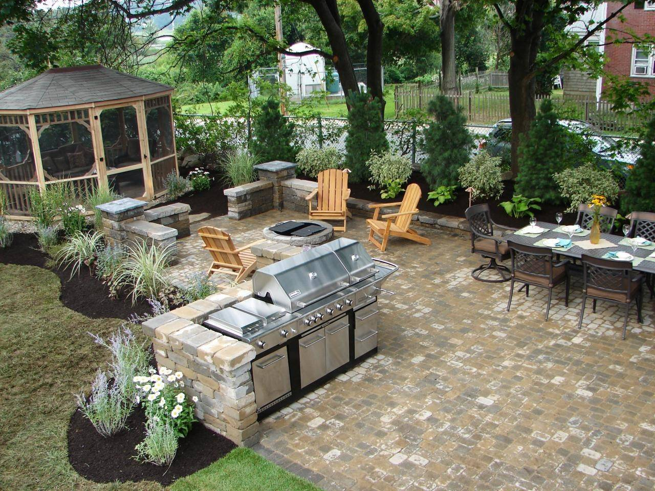 Dream Outdoor Grill Area Ideas 16 Photo - Barb Homes