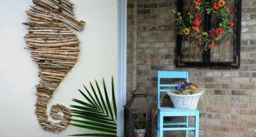 Outdoor Wall Decorations Ideas Personalize Your
