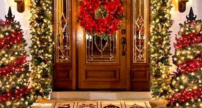 Outside Christmas Decoration Ideas Outdoor Decorations