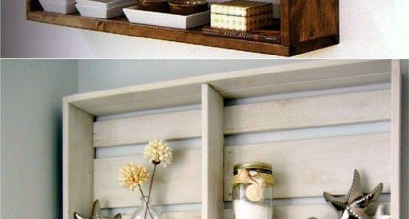 Outstanding Diy Bedroom Wall Shelves Including Decorating