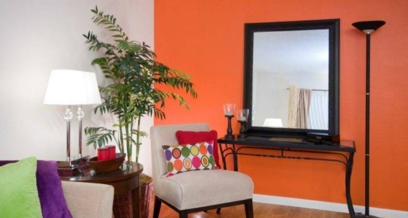 Paint Room Two Colors Trend