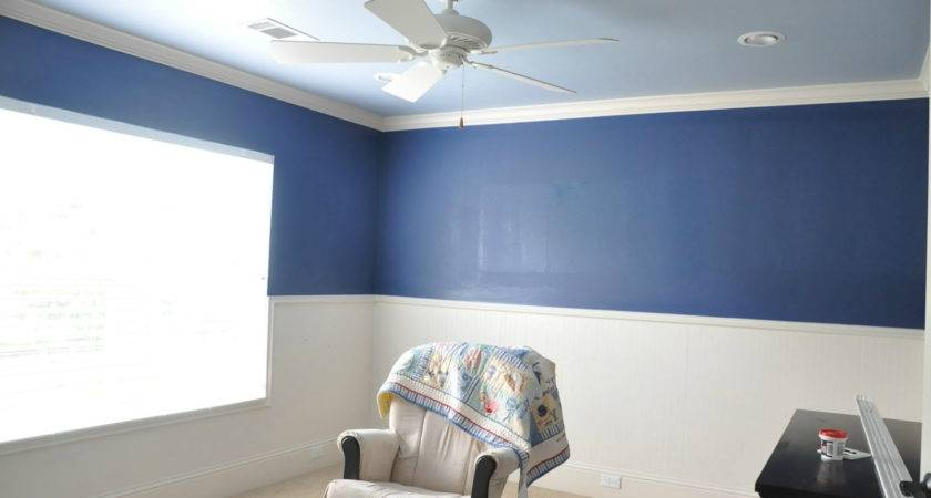 Paint Room Two Colors Una