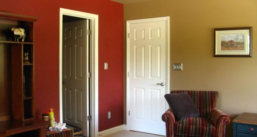 Two Wall Colors In One Room Ideas