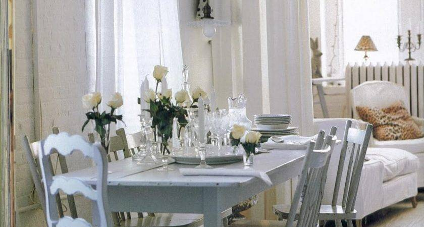 Painted Country Style Dining Furniture Traditional