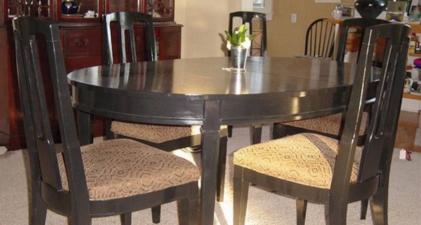 Painted Dining Room Table Marceladick