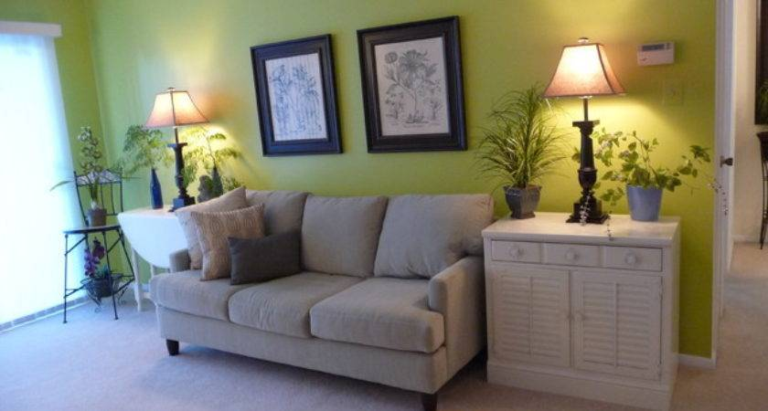 Painting Condo Pear Green Eclectic Living Room