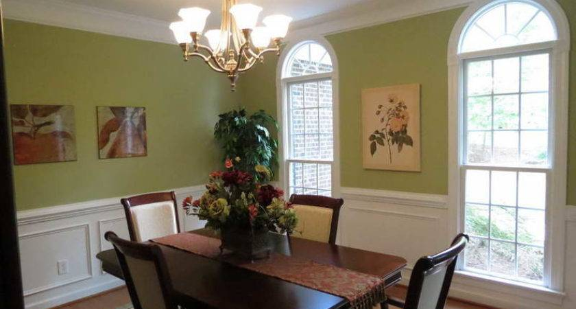 Painting Dining Room Wicker Chairs