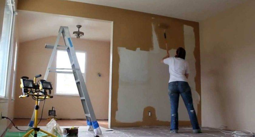 Painting Living Room Time Lapse Youtube