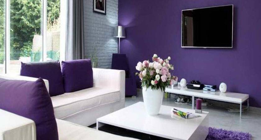 Painting Living Room Two Colors House Decor