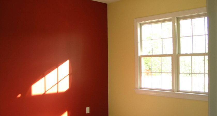 Painting Room Two Different Colors Inspire Home Design