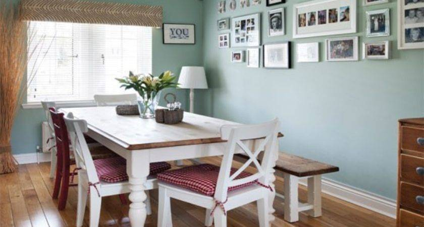 Pale Green Country Dining Room Housetohome