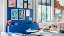 Palette Addict Perfecting Blue Feature Wall Bright