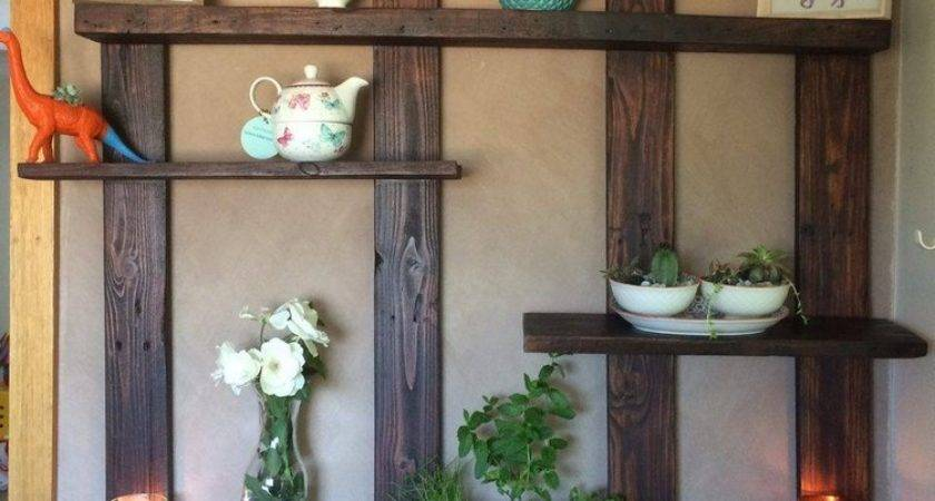 Pallet Shelves Wall Decor Wood Projects
