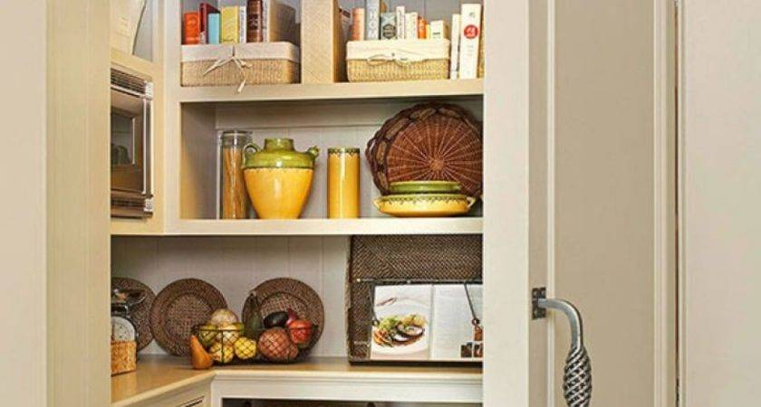 Pantry Storage Ideas Before After