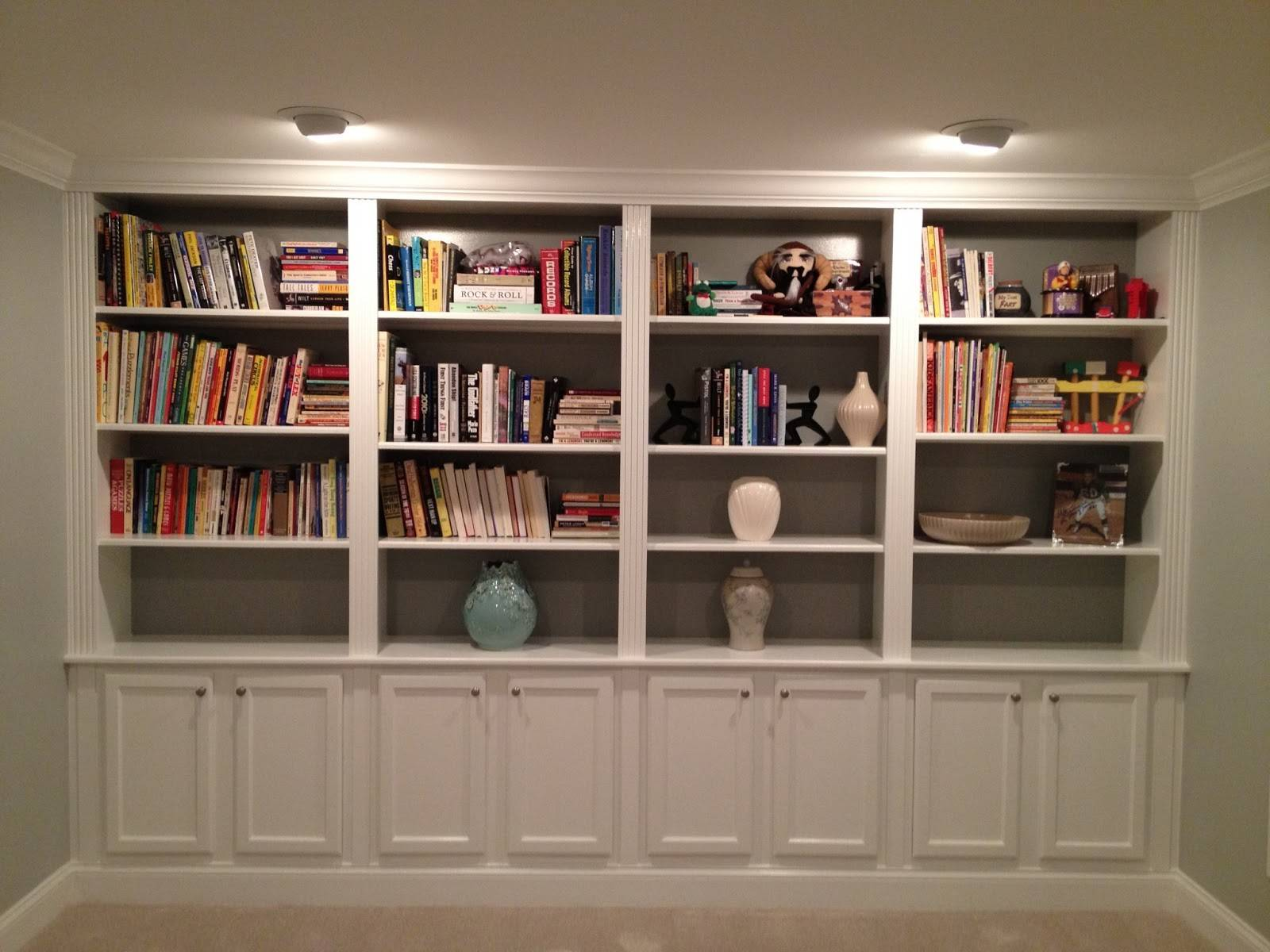 Diy Built In Bookcase Marcuscable Com