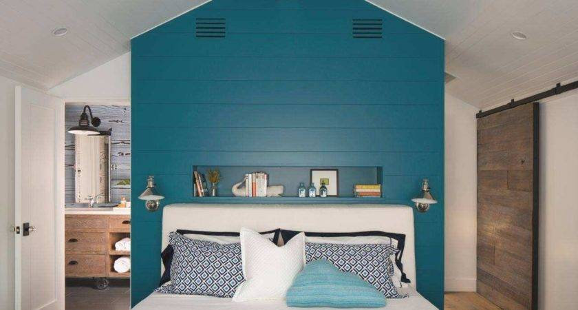 Peacock Color Scheme Bedroom Fresh Bold Coastal