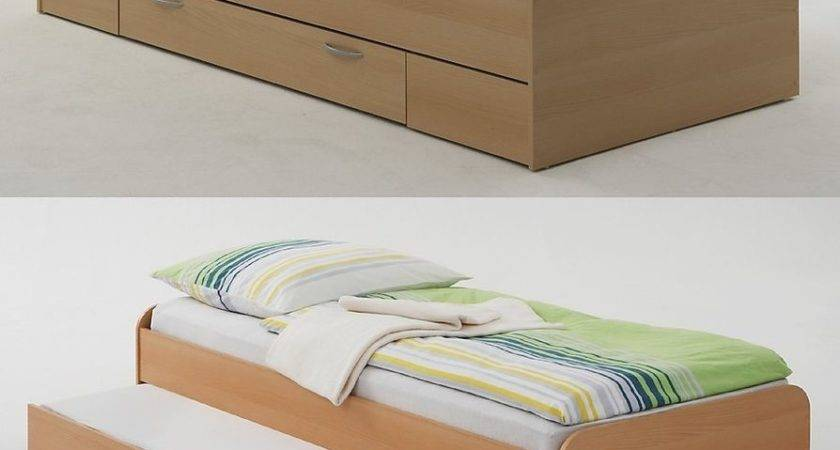 Pedro Guest Beds Single Drawer Twin Hidden Bed Ebay