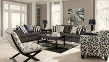 Perfect Levon Charcoal Sofa Contemporary