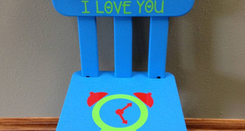 Personalized Time Out Chair Timer Colors Giftsforit