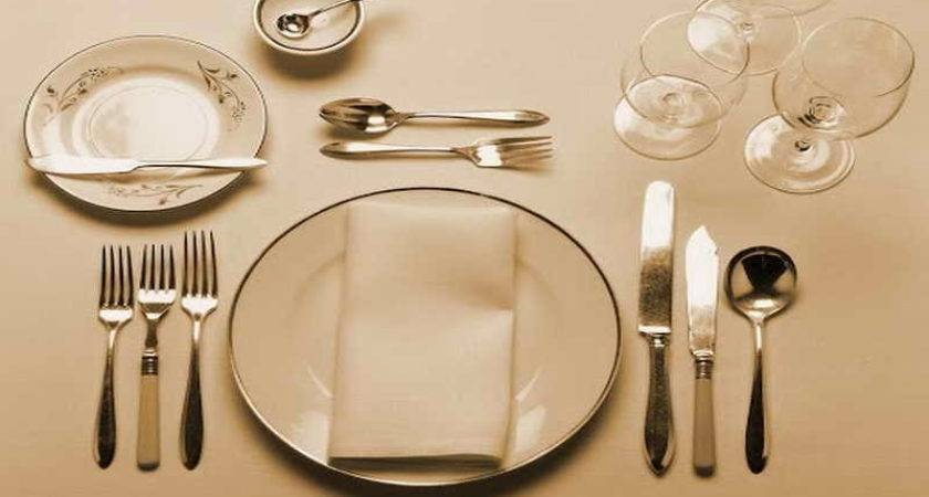 Pin Formal Table Setting Pinterest