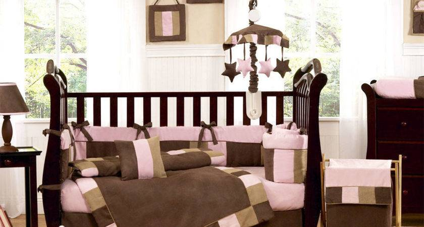 Pink Baby Crib Bedding Sets Nursery Tattoo